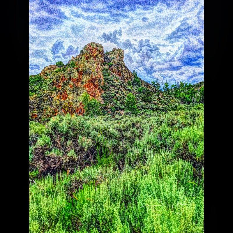 """Colorado Rocks!"" #geology #rock #rocks #riparian #gunnison #colorado #pinacle #outcrop #digitalart #digitalpainting #digitalpaint #picturesque #picshoplite #paulewing #zvuchno"