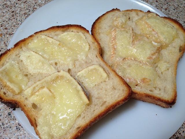 Fat Bottom Girl/Schloss on Manresa's sandwich toast