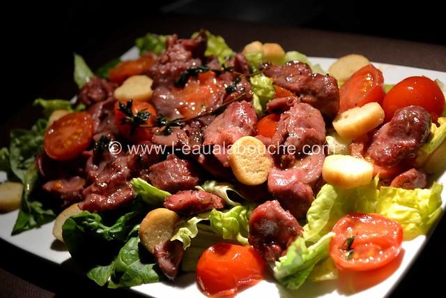 Salade de Gésiers de Canard Confits © Ana Luthi Tous droits réservés 011