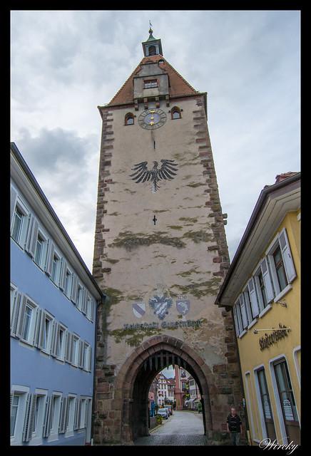 Selva Negra Lago Mummelsee Oppenau Offenburg Gengenbach - Torre de la puerta de Kinzig