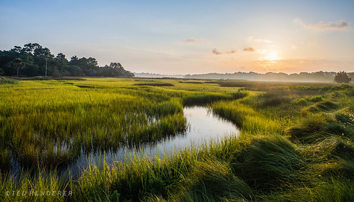 seabrookisland marsh captainsams southcarolina sunrise platinumheartaward charleston