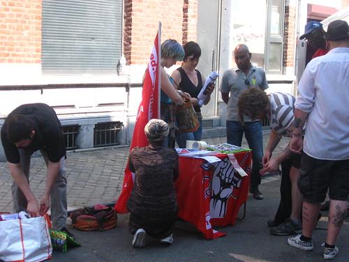 Liège : ''Nous ne sommes pas dangereux, nous sommes en danger!''