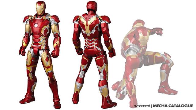 Medicom Toy - MAFEX Iron Man Mark 43