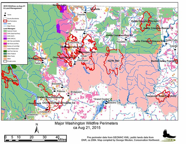 Cnw Fire Dispatch 6 Land Ownership Maps Conservation Northwest