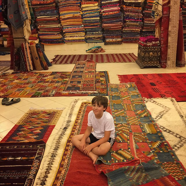 We shopped for rugs