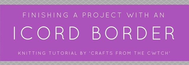 Icord Border tutorial at Crafts from the Cwtch