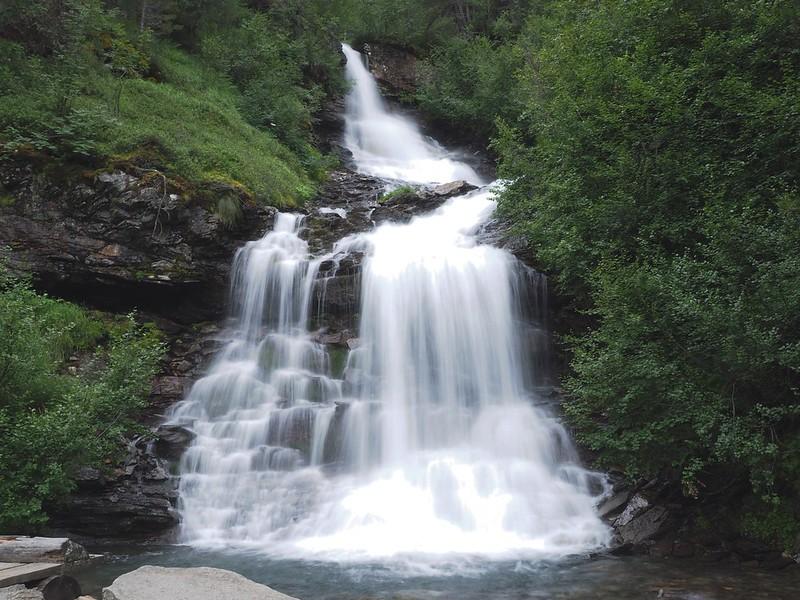 Wodospad / Waterfal romantic