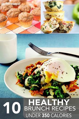 10 Healthy Brunch Recipes Under 350 Calories