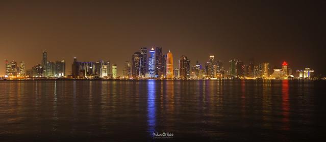 Doha Skyline - Panoramic
