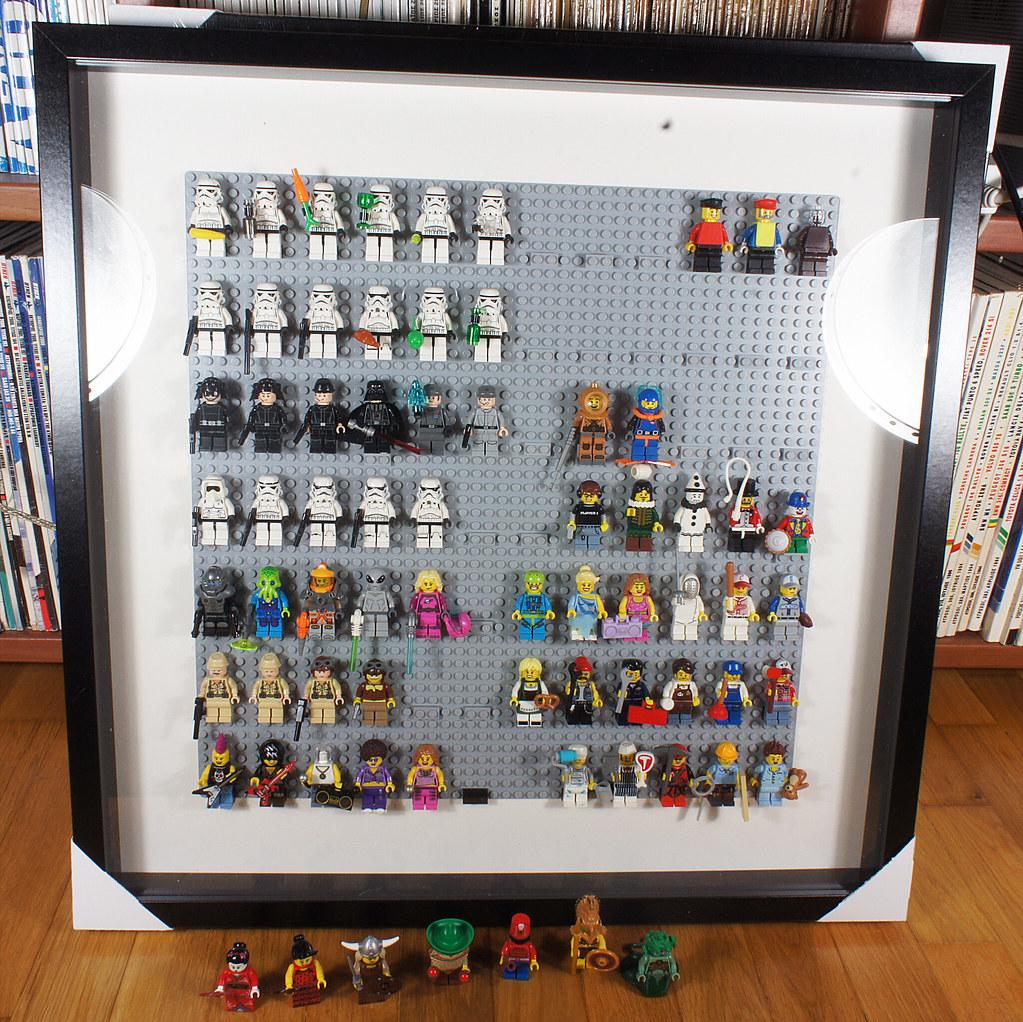 Lego Κορνίζα με Ikea ribba 21420368793_4d3c3c5f9c_b