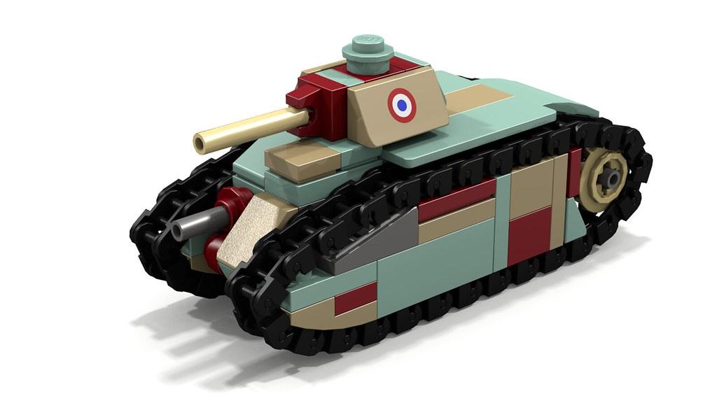Char B1 bis mini tank