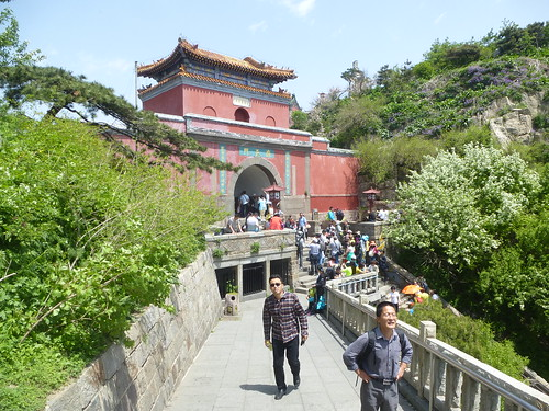 CH-Mont Taishan-Sommet 1-Porte céleste du Sud (3)