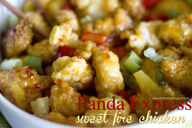 Panda Express Sweet Fire Chicken