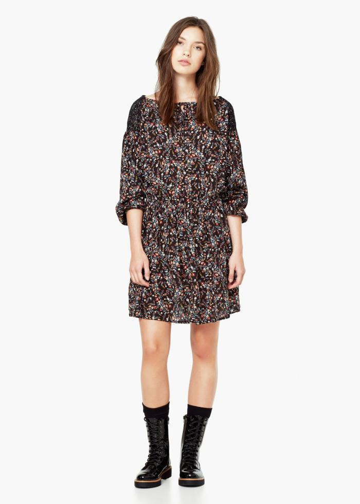 FLORAL PRINT DRESS 39,99e