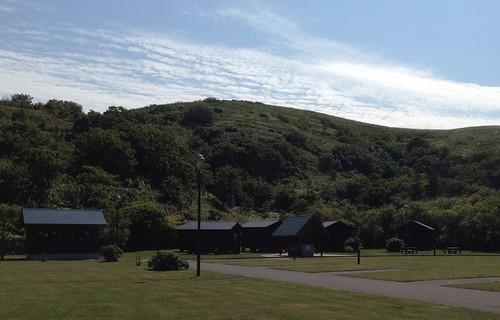 rebun-island-kusyu-lakeside-camp-site-bungalow