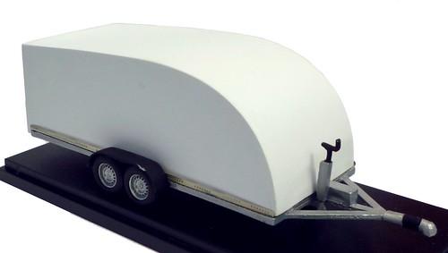 L'Aquilone carrello chiuso per auto