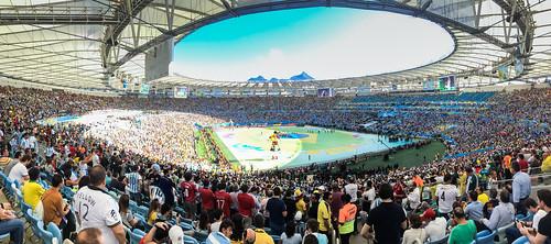 Stadion Rio de Janeiro Finale WM 2014