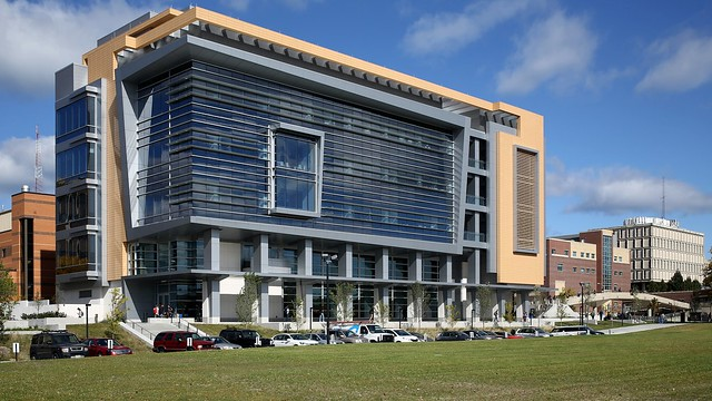 Kenwood Interdisciplinary Research Complex (south side)