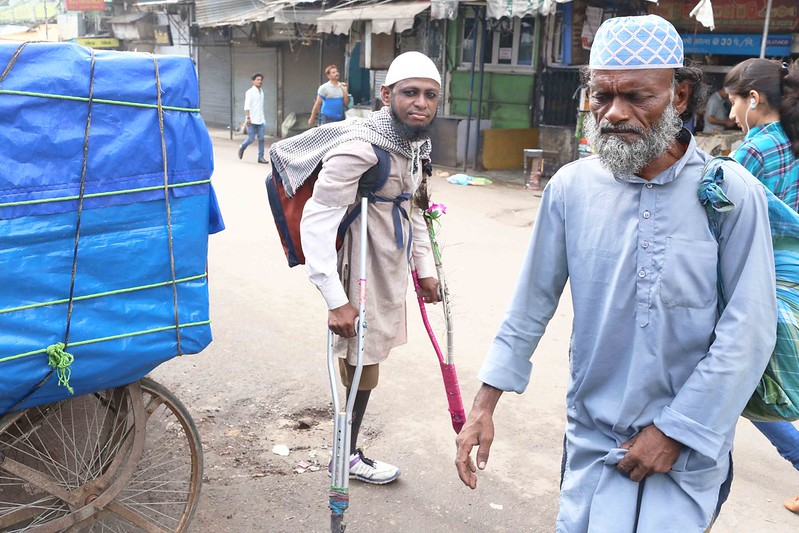 City Style - The Man with the Peacock Feather, Urdu Bazaar