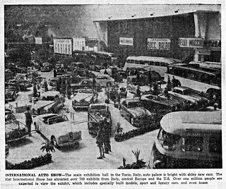 1948 Turin, Italy International Auto Show