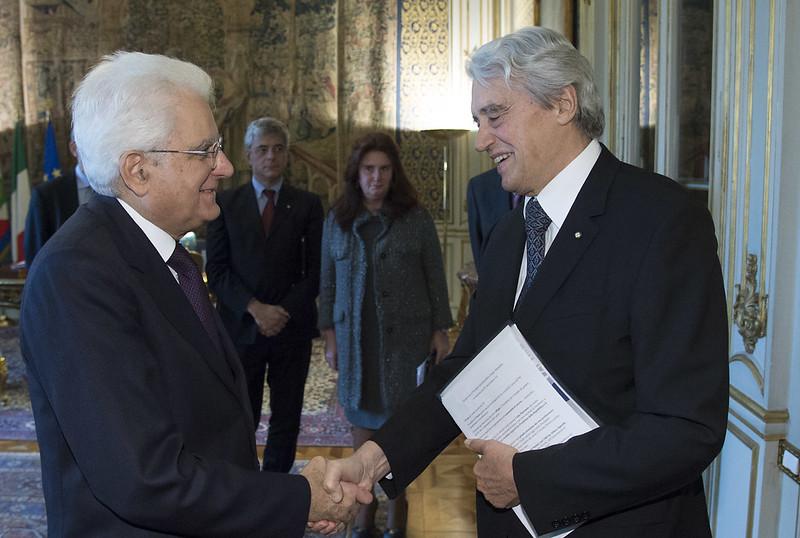 Lo IAI dal Presidente Mattarella