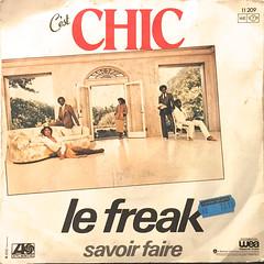 CHIC:LE FREAK(JACKET B)