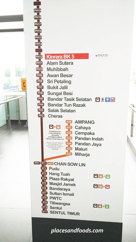 NEW LRT BK5 new station signage