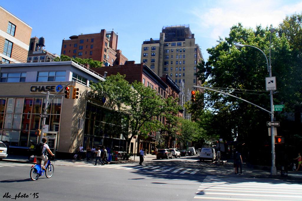 Una de las calles del Greenwich Village