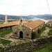 La Ermita de Santa Tecla, con el Bajo Miño al fondo