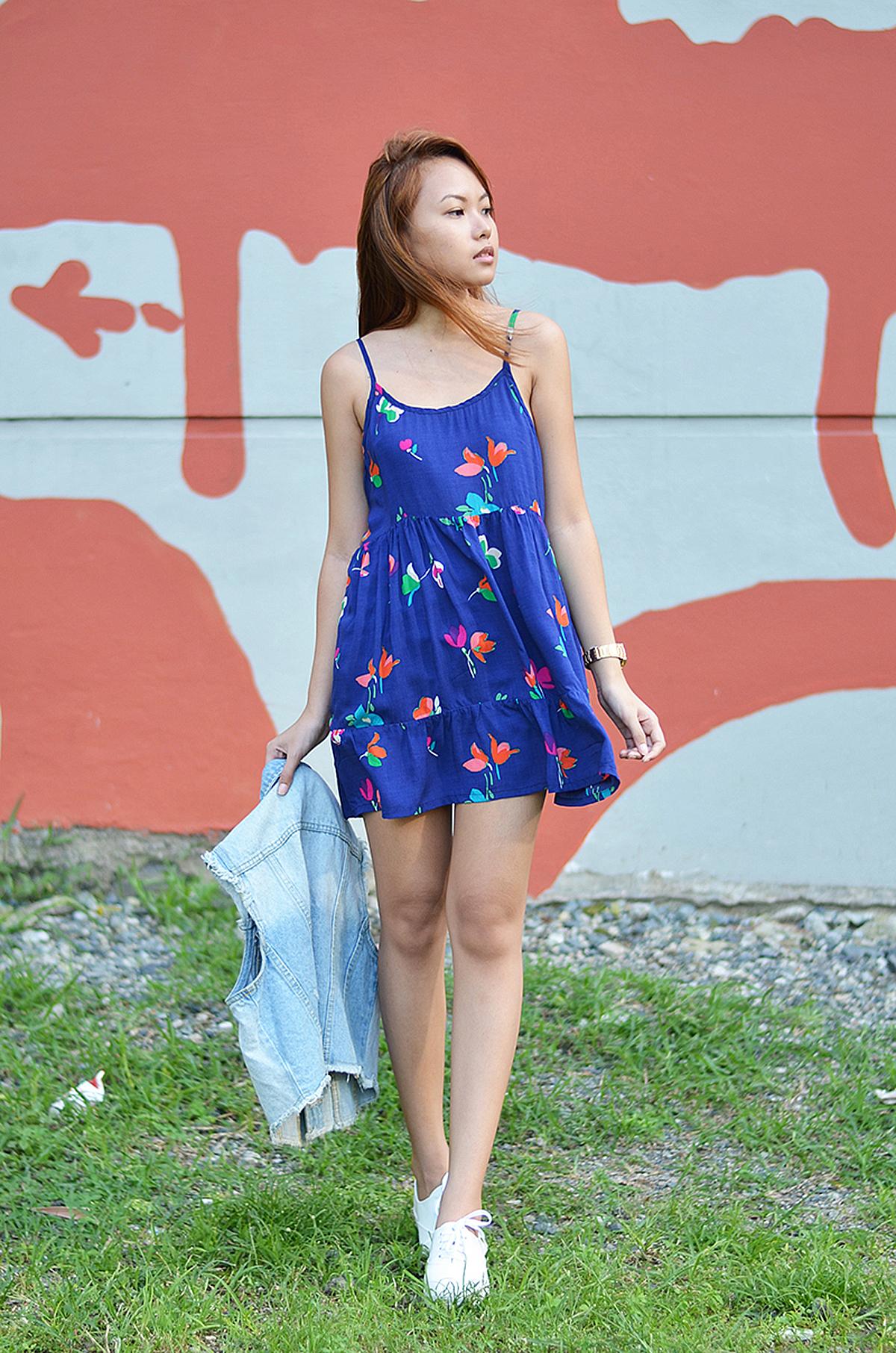 Trice Nagusara Floral Dress