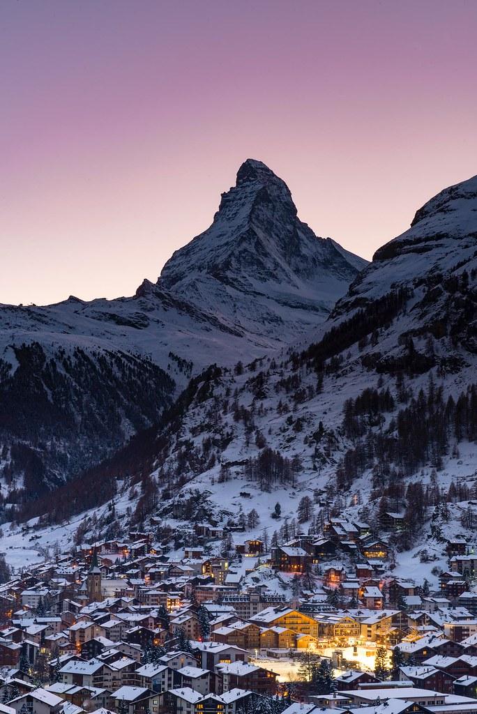 Good night - Zermatt