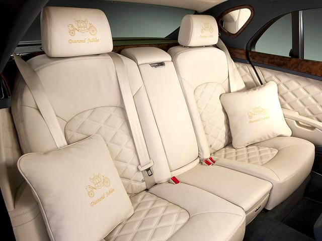 Салон Bentley Mulsanne Diamond Jubilee. 2012 год
