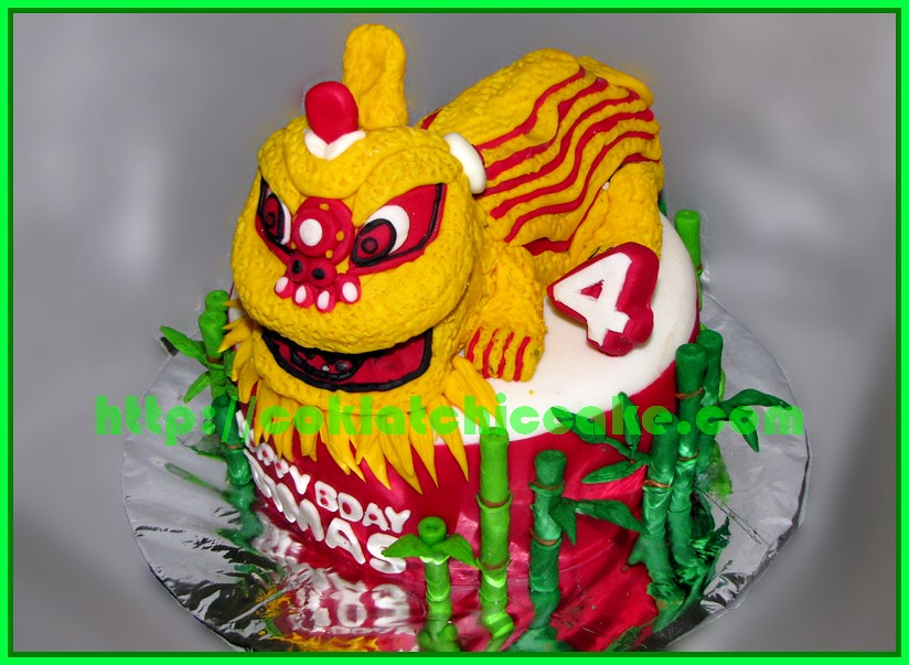 Cake Barongsai