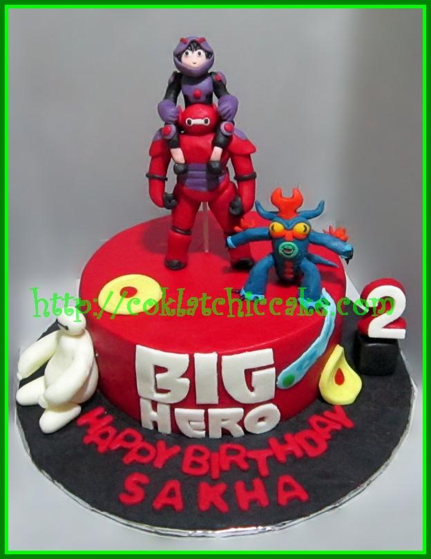 Cake big hero 6 / cake baymax