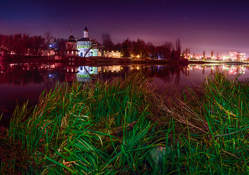 city panorama night landscape evening nikon cityscape view nightscape ukraine ua vinnytsia vinnytskaoblast