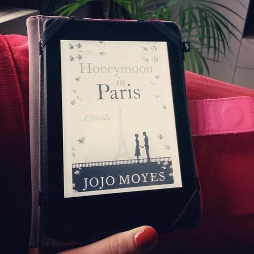 Leuke afleiding tussen het kokkerellen door. #boekenwurm #jojomoyes #chicklit #bookstagram