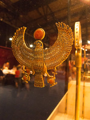 Egyptian falcon pendant