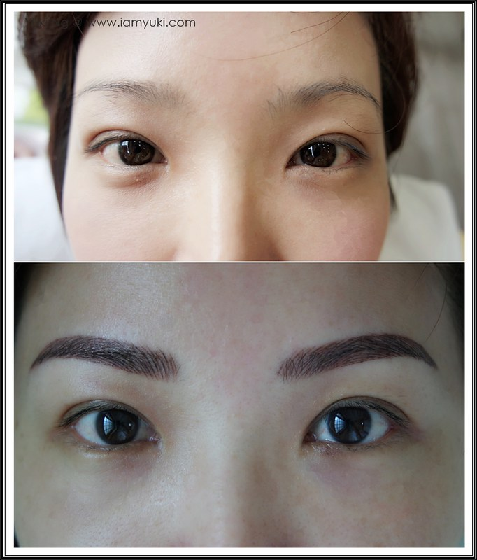 Yuki Ng Beauty Recipe Nano Korean Eyebrow Embroidery001