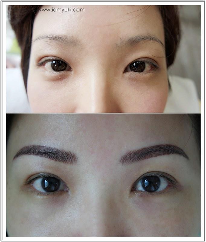 Yuki Ng Beauty Recipe Nano Korean Eyebrow Embroidery001