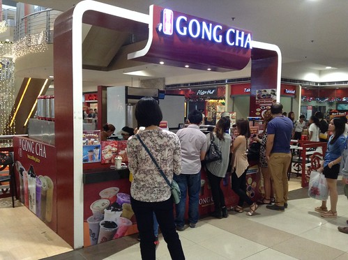 Gong Cha @ SM City Cebu