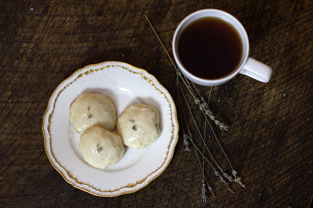Lavender Lemon Drop Cookies