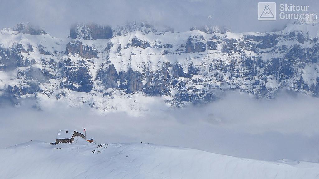 Haute Route Swiss Glacier, Tierberglihütte via Sustenhorn, Urner Alpen:http://skitourguru.com/oblast/23-urner-alpen, Switzerland.