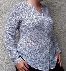 Sew Anemone - Bonn Shirt & Dress by Itch to Stitch