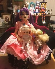 Halloween doll meet.