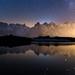 Lumière de nuit - Lacs des Chéserys by StephAnna :-)