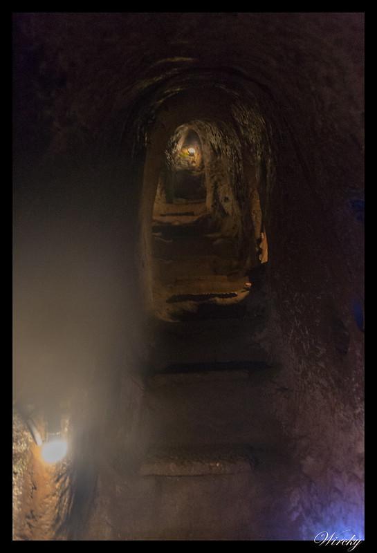 Túneles Vinh Moc - Escaleras para cambiar de nivel