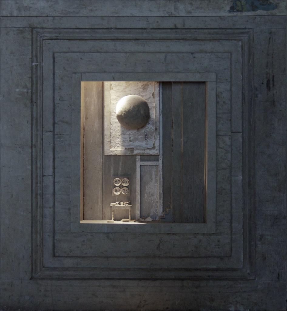 Peter Gabriëlse- box sculpture