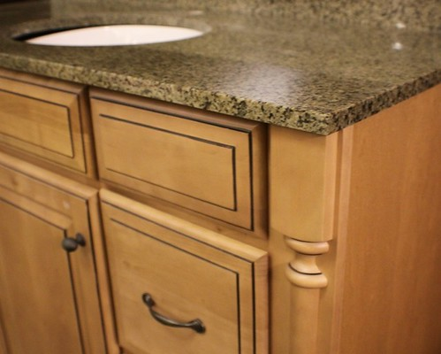 Grand bay bykraftmaid bathroom vanity sink base cabinet 48 for 48 sink base kitchen cabinets