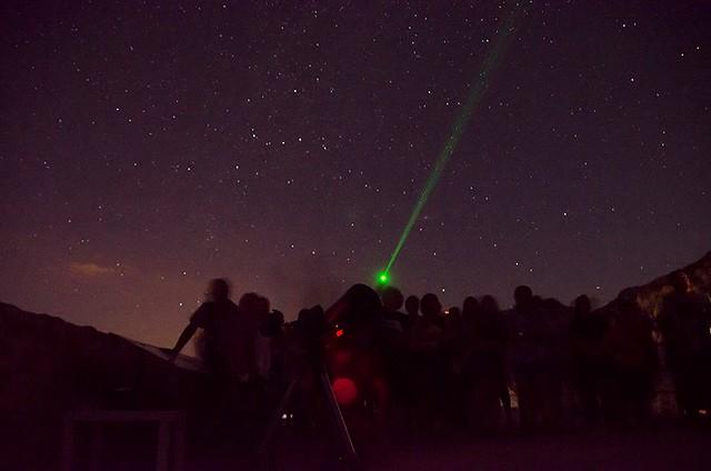 Observaciones astronómicas en Cosmolarium